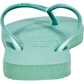 havaianas Slim Flips Women green tea
